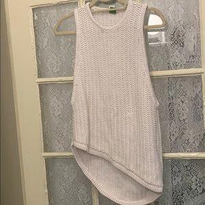 Knit asymmetrical Helmut Lang top